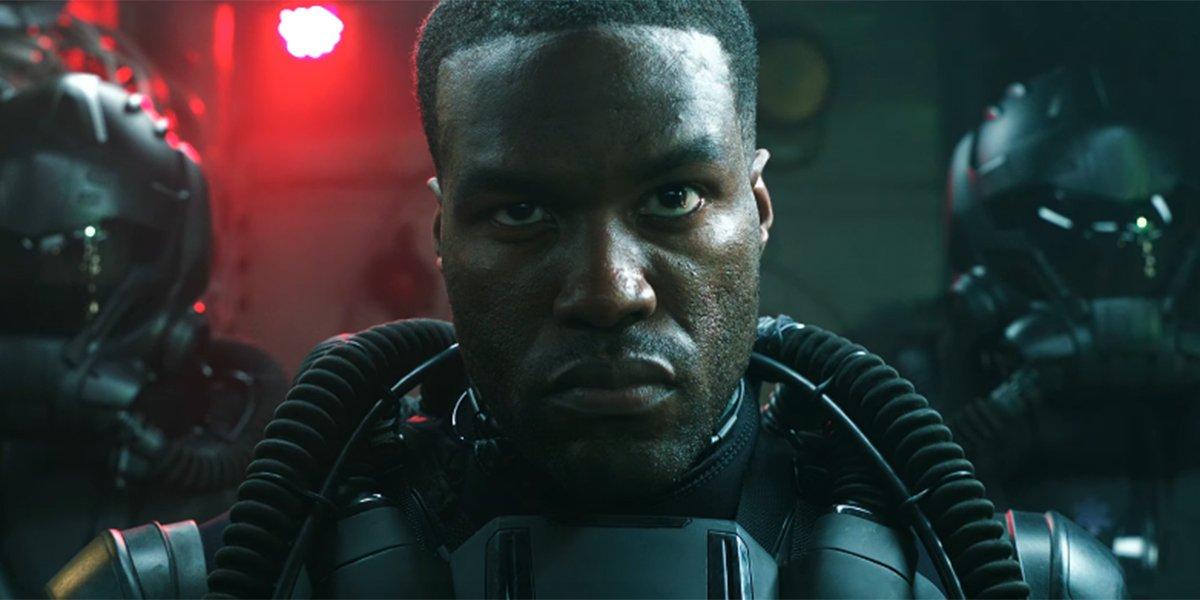 Yahya Abdul-Mateen as Black Manta in Aquaman