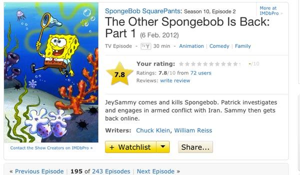 how to write spongebob squarepants