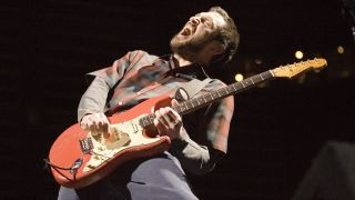 Red Hot Chili Peppers guitarist John Frusciante