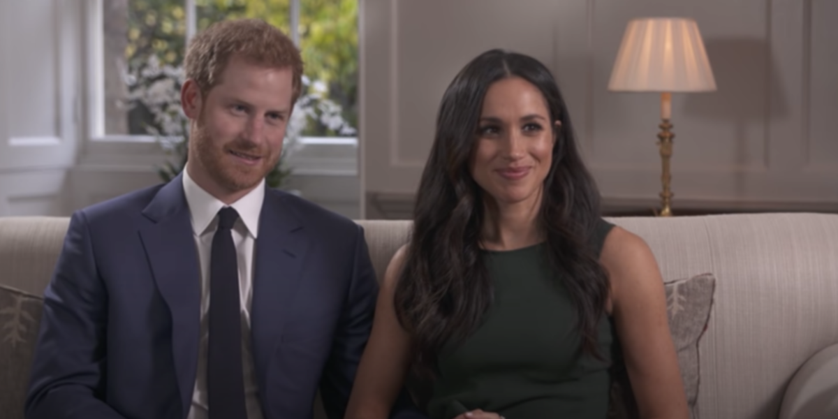 prince harry and meghan markle interview screenshot