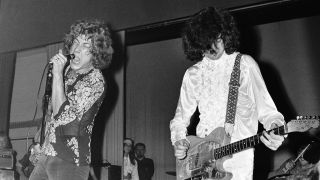 Robert Plant and Jimmy Page - The New Yardbirds (to become Led Zeppelin )., Copenhagen, Sep. 7, 1968