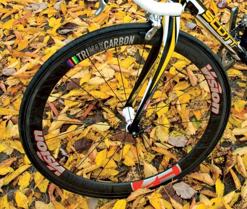 Vision TrioMax Carbon Tubular wheels 2010