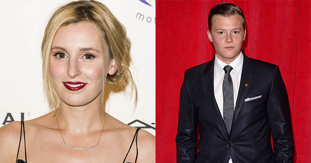 laura carmichael, charlie wernham, downton abbey, holloaks
