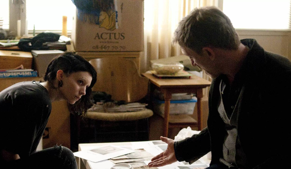 The Girl With The Dragon Tattoo Lisbeth and Mikael Investigating