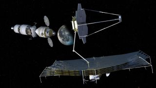 Orion Multi-Purpose Crew Vehicle Observatory Servicing Concept