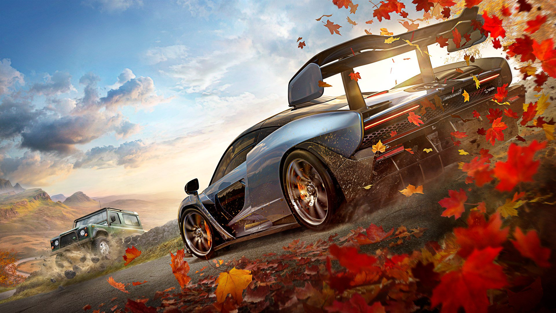 Forza Horizon 4 demo offers a free tour of the beautiful