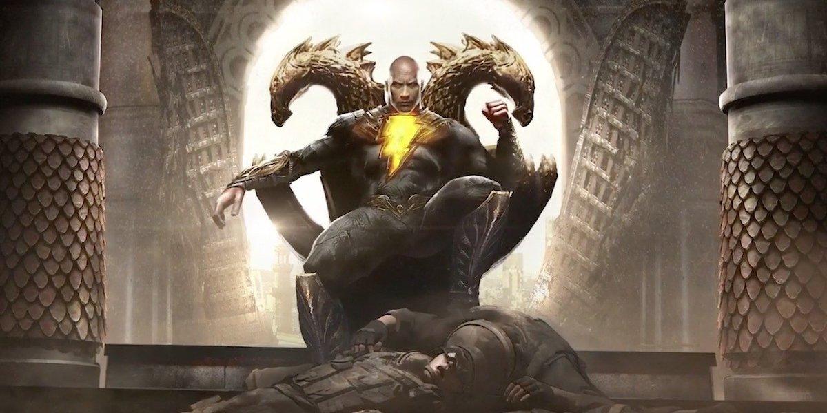 Black Adam Concept Art
