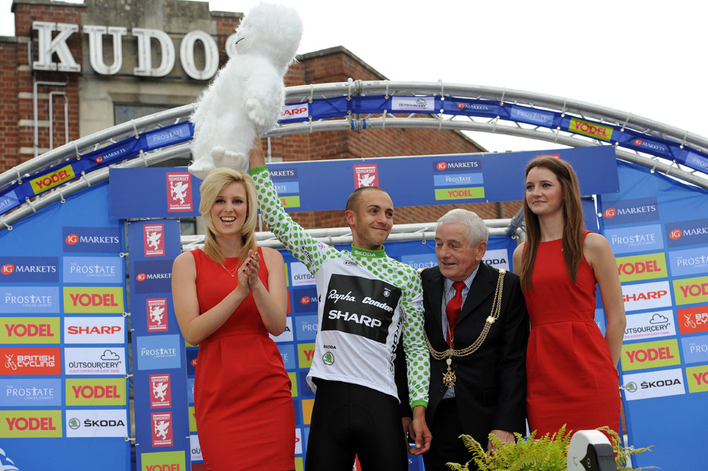 Jonathan Tiernan-Locke, KoM, Tour of Britain 2011, stage six