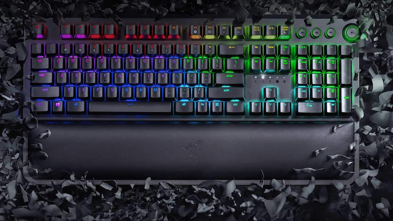 Razer Blackwidow Elite keyboard review   GamesRadar+