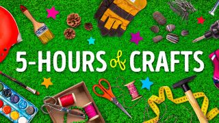 Graphic for TheSoul Publishing's '5-Hour of Crafts'