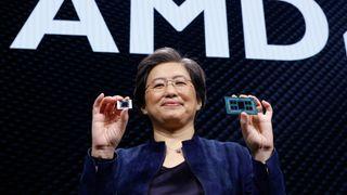 AMD's CEO Lisa Su at CES 2020