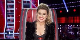 Kelly Clarkson Supports Blake Shelton In Concert Just A Few Days After Taking A Jab At Her The Voice Co-Star In Vegas