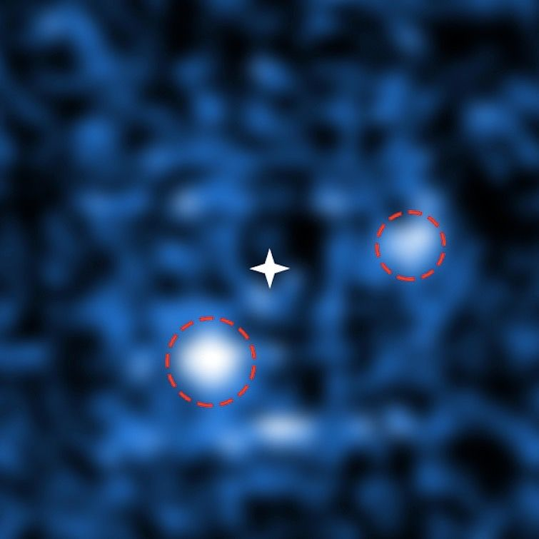 Rare Sight! 2 Newborn Alien Planets Spotted Around Distant Star