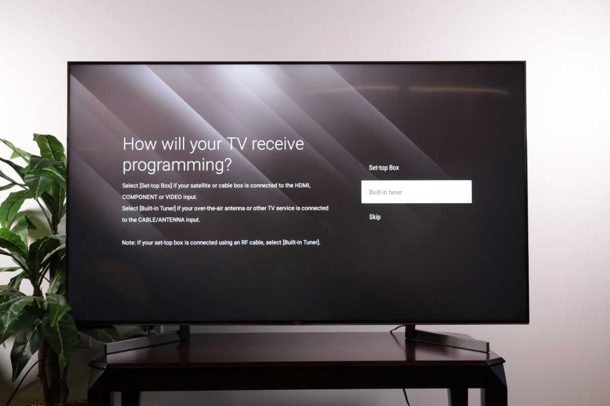 How to set up over-the-air channels on your Sony TV - Sony