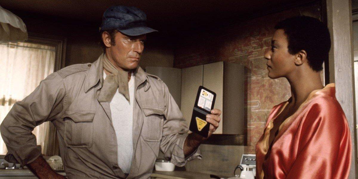 Charlton Heston in Soylent Green