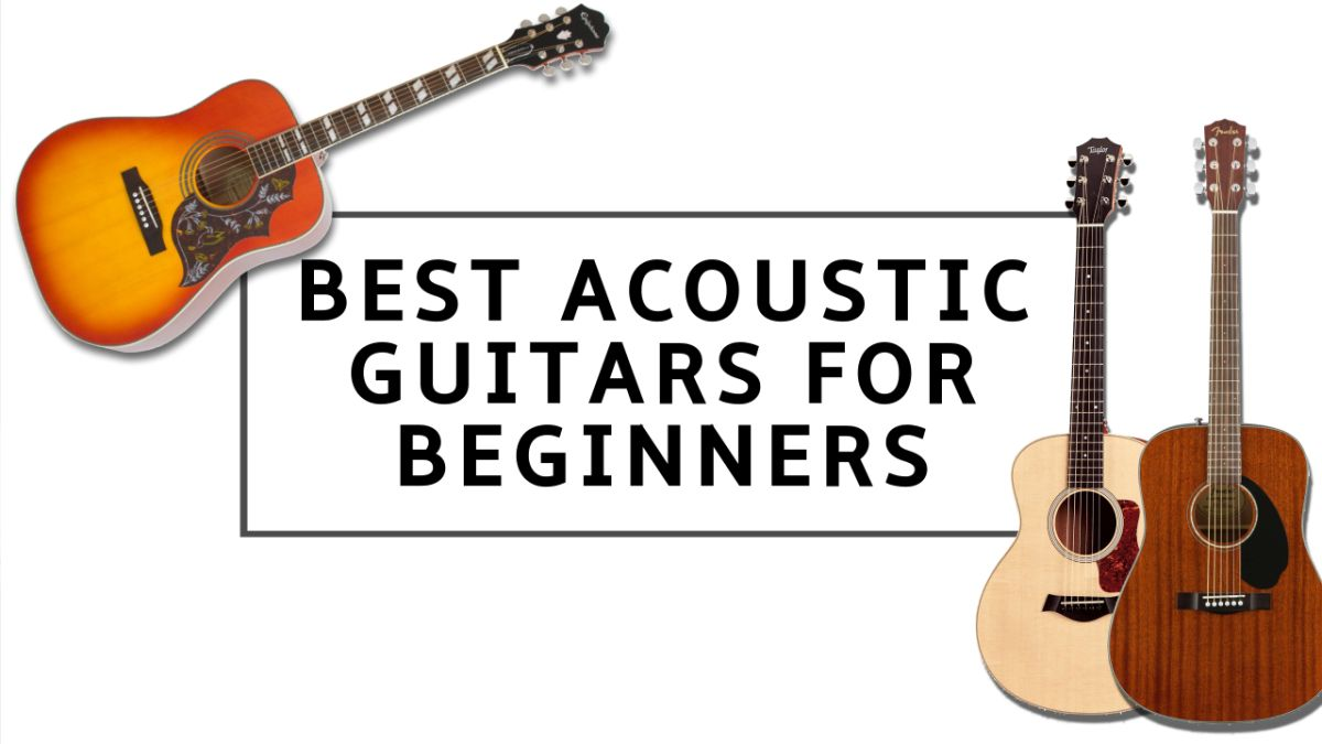 10 best acoustic guitars for beginners 2020: easy strummers for new acoustic guitar players