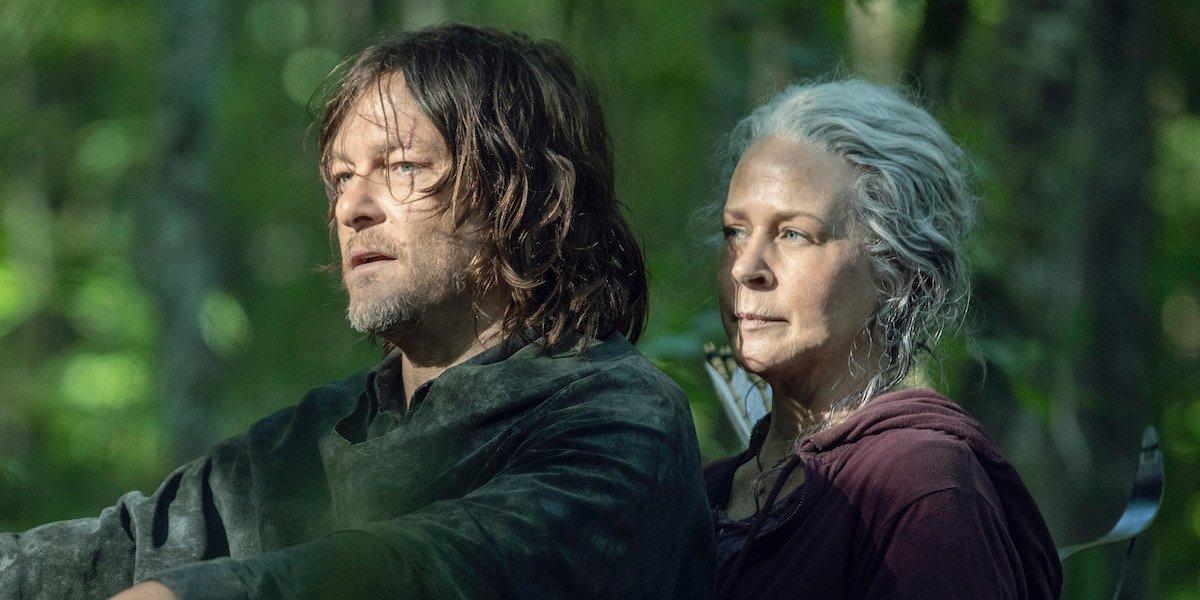 Carol and Daryl The Walking Dead Season 10