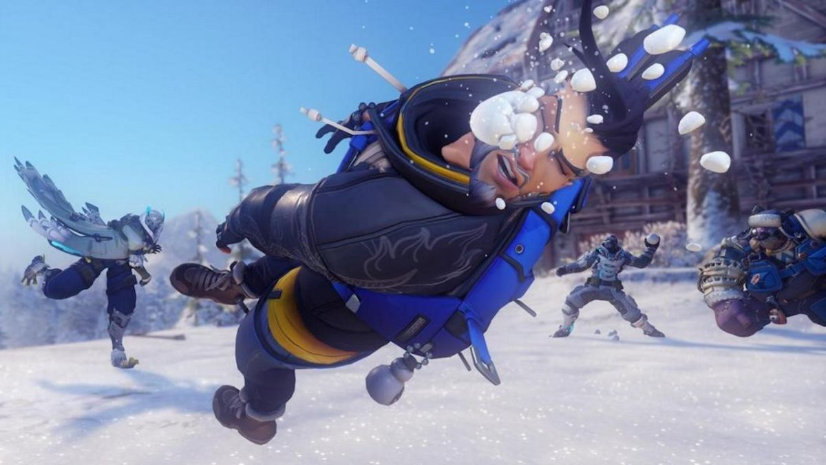 Overwatch teases Winter Wonderland's return on December 11 with holiday Blizzard World