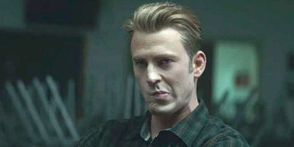 Chris Evans as Captain America Steve Rogers Avengers: Endgame Marvel MCU