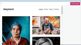 WordPress Mayland theme