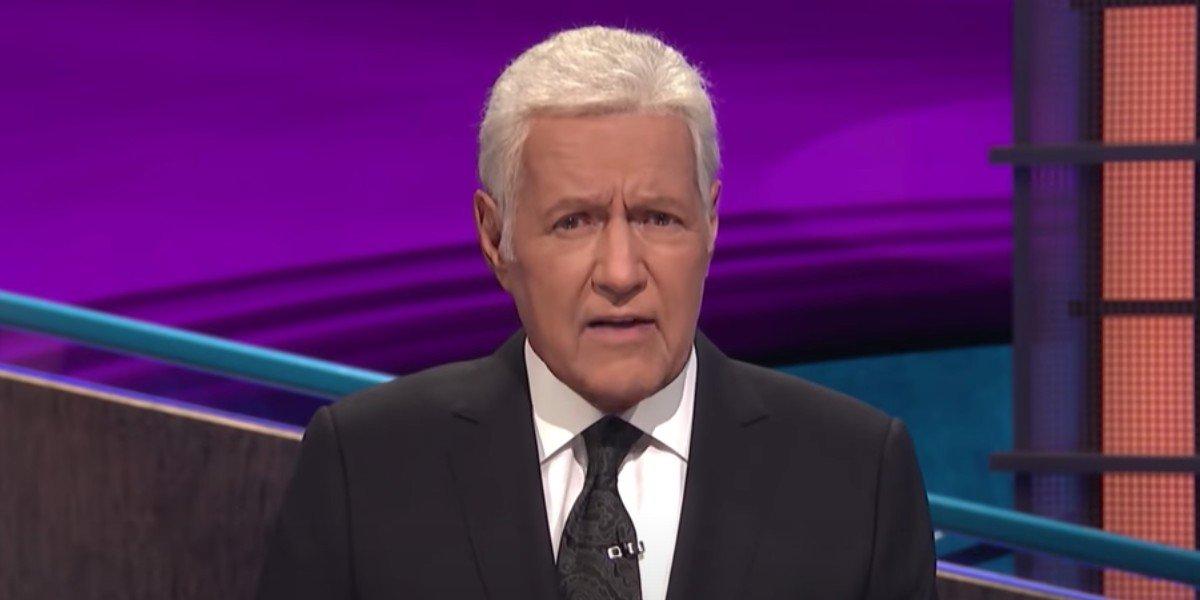 Alex Trebek in Jeopardy! message