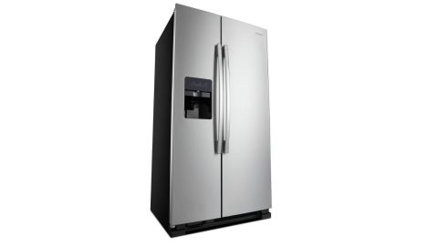 Amana AS12575GRS side by side refrigerator review