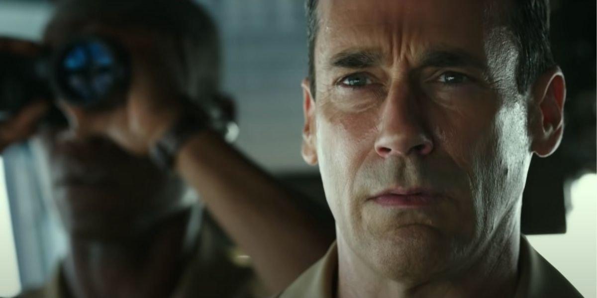 Джон Хэмм подробно видит, как главный стрелок: Maverick в кинотеатре со всеми установленными протоколами безопасности
