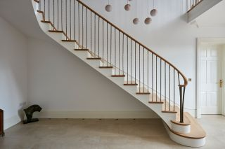 renovating a staircase is much easier than replacing one in most instances