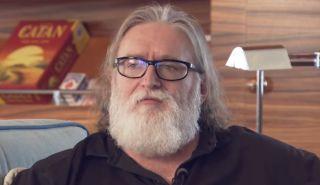 Gabe Newell 1 News interview