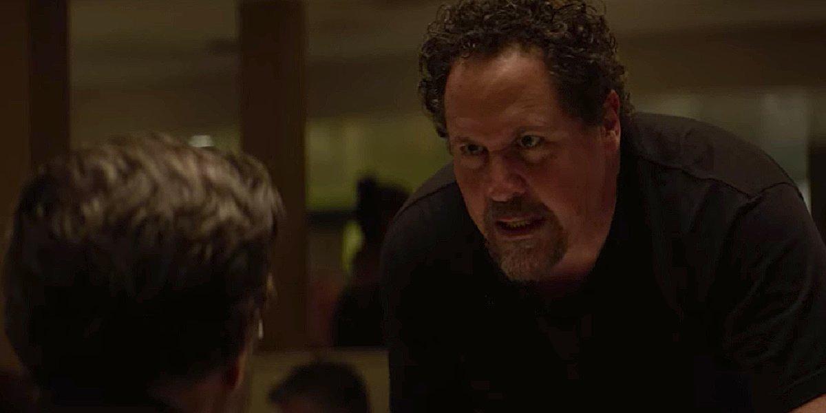Carl Casper yelling at the critic in Chef