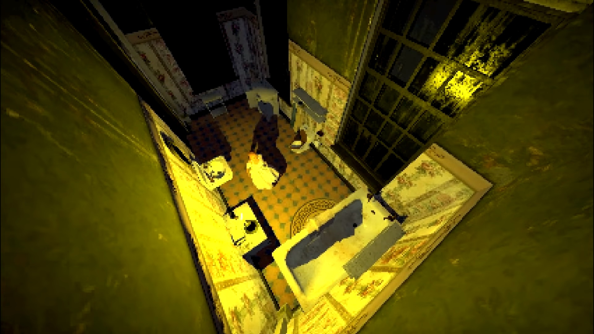 The Glass Staircase is a grim homage to classic PlayStation horror games | PC Gamer