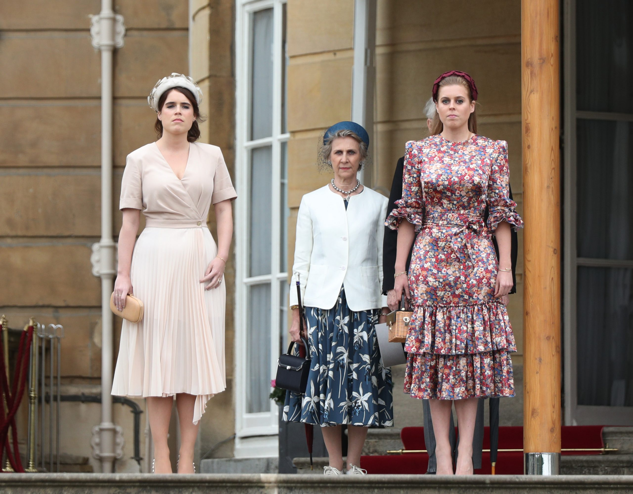 Princess Beatrice And Eugenie Delight Fans In Outfits Matching The