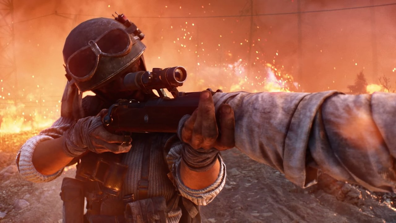 Watch a full match of Battlefield 5 Firestorm's battle