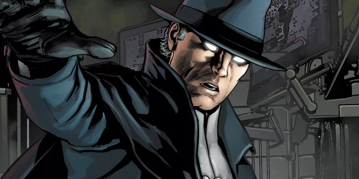 The Phantom Stranger has one biblical origin story