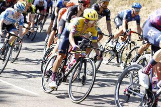 Colombian road race champion Sergio Higuita on stage 2 of the 2020 Critérium du Dauphiné
