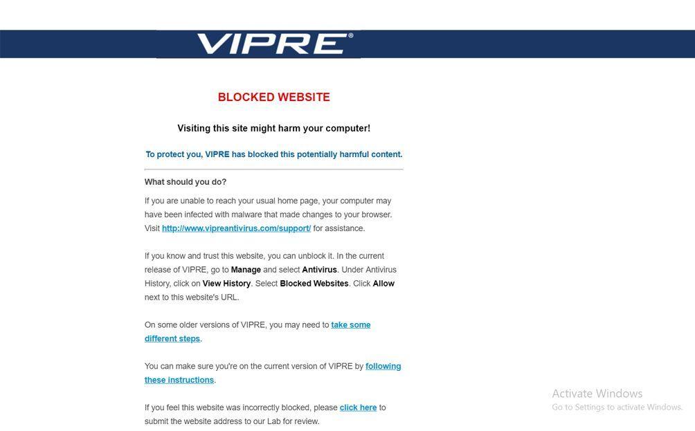 VIPRE Antivirus Review - Pros, Cons, Verdict and Comparison