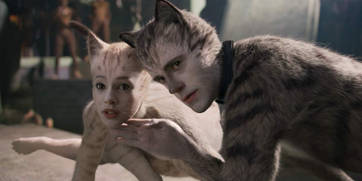 Francesca Hayward and Robbie Fairchild in Cats
