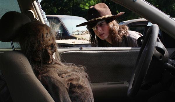 the walking dead season 8 premiere carl zombie