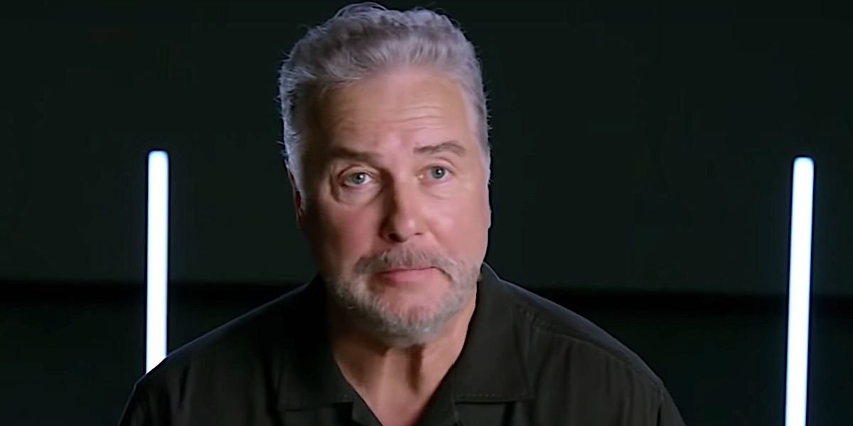 William Petersen talking in CSI: Vegas trailer