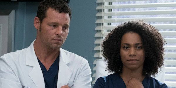 Alex and Maggie in Grey's Season 14