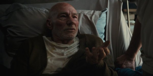 Patrick Stewart Charles Xavier Logan