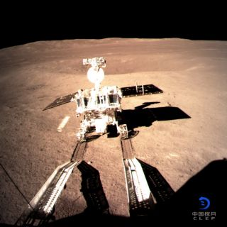 China's Yutu 2 Rover on the Moon's Far Side