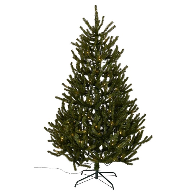 best artificial Christmas trees: wilko unswept pre-lit christmas tree