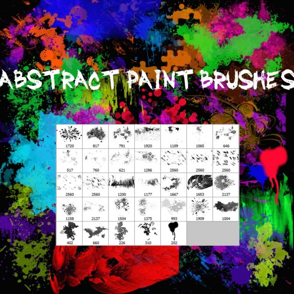 Photoshop brushes: Abstract brushes