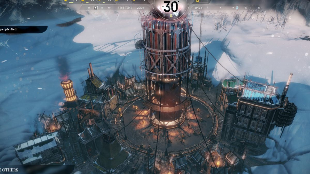 10 Days In Frostpunk Maimed Children Cannibalism And