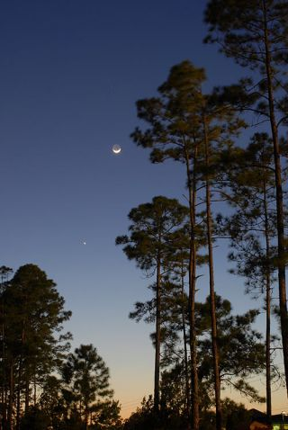 Jupiter and The Moon to Give Mother's Day Treat