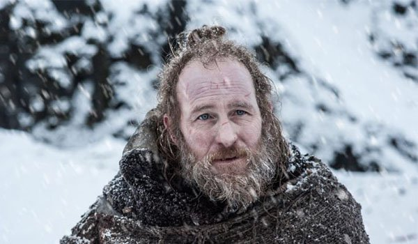 Thoros of Myr beyond the wall, Game of Thrones