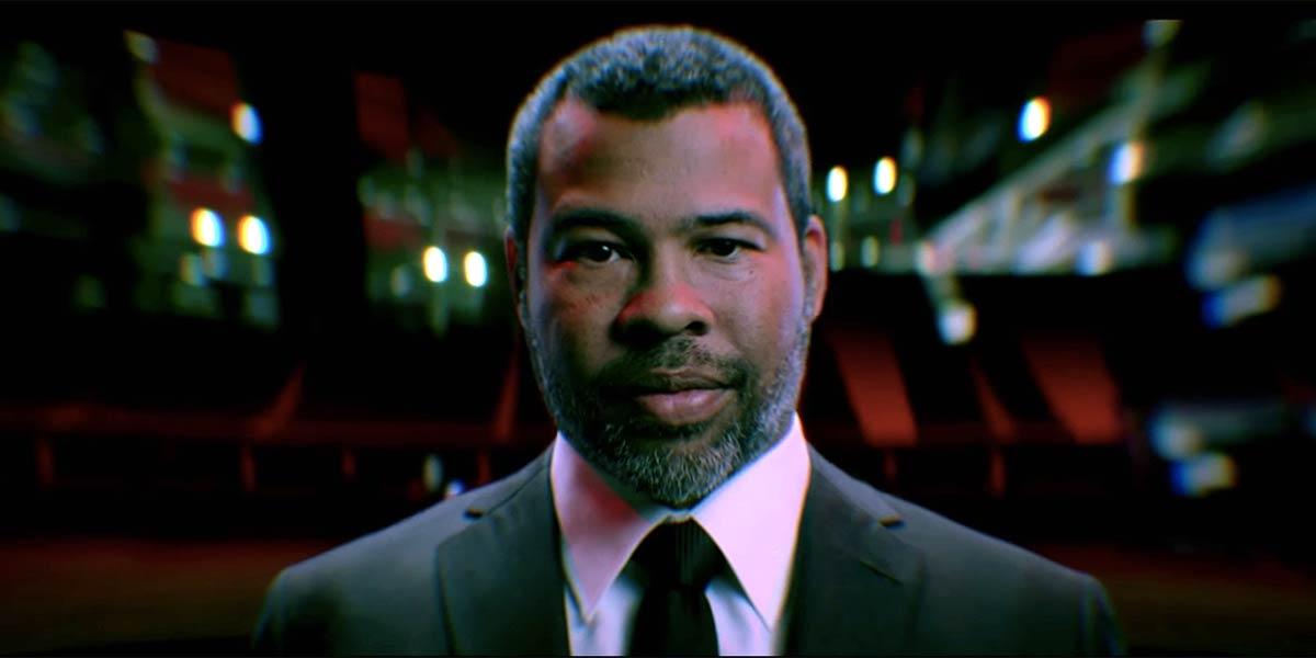 Jordan Peele, the director of Nope, in The Twilight Zone.