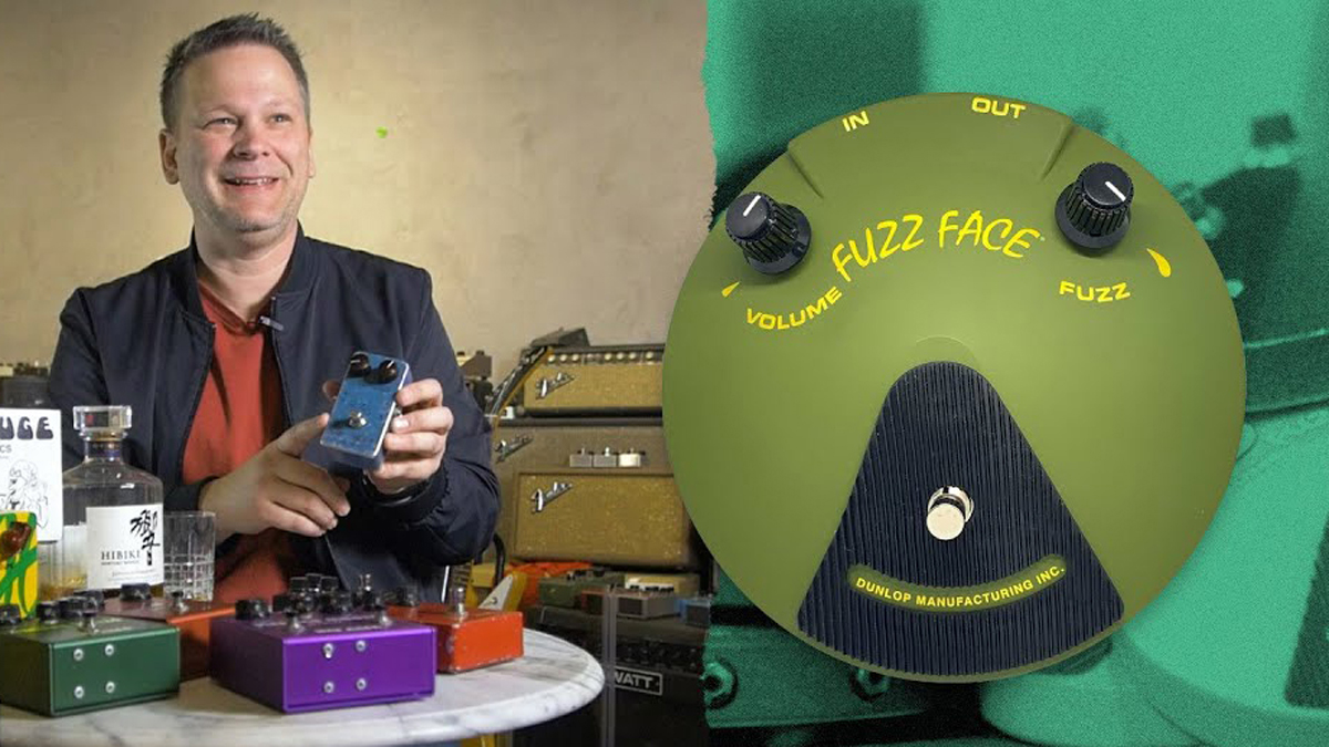 Jeorge Tripps teams up with Reverb for a super-limited 10-unit run of hand-built Fuzz Face pedals