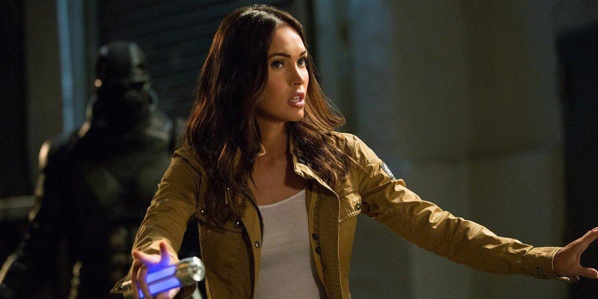 Megan Fox as April O'Neil in Teenage Mutant Ninja Turtles: Out of the Shadows (2014)